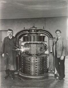 Poulsen Arc at Lyngby Radio, 1926
