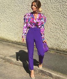 Different shades of the colour purple modelled by 💕.Different shades of the colour purple modelled by 💕 Mega Fashion, Trendy Fashion, Fashion Trends, Women's Fashion, Africa Fashion, Fashion Women, Fashion Inspiration, Fall Outfits, Casual Outfits