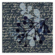 Indigo blue , Prints and Posters at Art.com