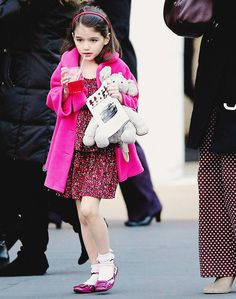 Young Fashionista Suri Cruise  featured fashion children fashion