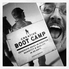 "Thrilled to find pal Stefan Mumaw's book ""Creative Boot Camp"" in my PO Box! What a guy! What a book! 