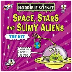 Shop for Galt Toys Horrible Science Space, Stars And Slimy Aliens. Starting from Choose from the 2 best options & compare live & historic toys and game prices. Cool Science Experiments, Science Kits, Science Books, Science Space, Discovery Kit, Game Prices, 12 Year Old, The Martian, Crafts To Do