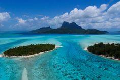 Bora Bora, French Polynesia. Water was incredible, island very overpriced.