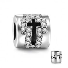 Holy Cross With Crystal Charm 925 Sterling Silver Soufeel Jewelry for every memorable day