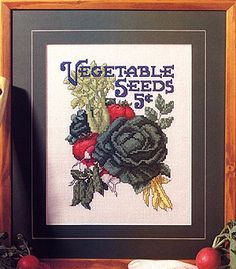 Free Garden Delight Cross Stitch ePattern
