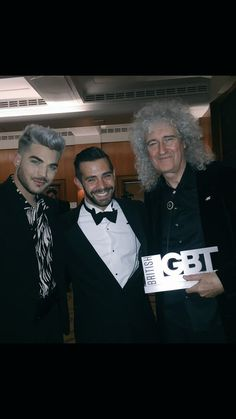 MT @CharlieKing85: With the amazing @adamlambert and @DrBrianMay #lgbt