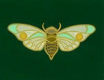 Image result for art nouveau insects
