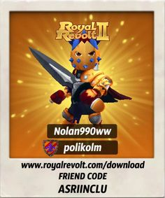 Build your own kingdom and lead your army to victory! https://youtu.be/LbRen7Q5Ja0  Download Royal Revolt 2 on your mobile device: www.royalrevolt.com/download    Start the game and get an EPIC reward by entering this friend code: ASRIINCLU