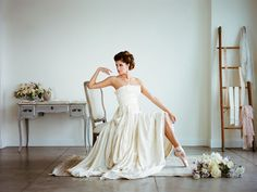 Wedding inspiration from the ballet with a Lindee Daniel wedding dress