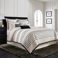 Wamsutta® Manhattan Jacquard Comforter Set in Creme