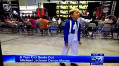 8 YEAR OLD KID BUSTS OUT TO MICHAEL JACKSON DANCE MOVES WANTS TO BE LIKE...