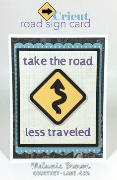 Cricut Roadside card