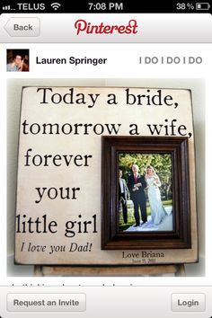 love this idea for a present for my dad