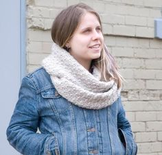 Once Twice Three times a Cowl Kit - Knitting Kit includes Yarn & Pattern!