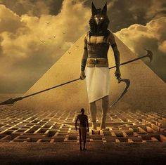 Anubis, Ancient Egypt Religion, Egyptian Jackal, Art Prompts, Samurai, Fantasy Art, Concept Art, Egypt Tattoo, Black Planet