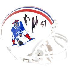 Rob Gronkowski New England Patriots Fanatics Authentic Autographed Throwback Mini Helmet - $279.99