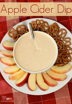Apple Cider Dip perfect for fall!