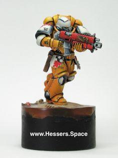 Imperial Fists Primaris Marine Warhammer40k
