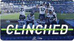 Barers of Maple Valley: Seahawks Clinch Post Season Birth 25 November, 21st October, July 24, Seahawks Football, Seattle Seahawks, Nfc West, Usa Sports, Carolina Panthers, Seasons