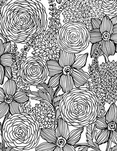 alisaburke: flower power coloring book on sale and a free download for you!
