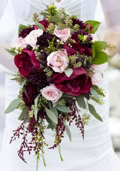 Flowers Bouquet White Fall Wedding 66 Ideas For 2019 Bride Bouquets, Flower Bouquet Wedding, Floral Wedding, Fall Wedding, Our Wedding, Dream Wedding, Bridesmaid Bouquets, Bridesmaid Ideas, Wedding Table
