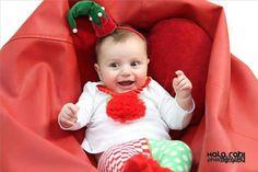Jm Handmade creative Christmas baby elf hat