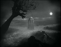 """Faust (1926) dir. F.W. Murnau """"""""Faust,"""" with its supernatural vistas of heaven and hell, is particularly distinctive in the way it uses the whole canvas. Consider the startling early shot of Mephis..."""