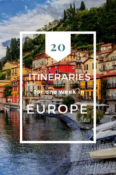 Wondering where to spend one week in Europe? These 20 ideas for your Europe trip will help you decide how to maximize your time and enjoy as many destinations as possible. babies flight hotel restaurant destinations ideas tips Europe Destinations, Europe Travel Tips, Places To Travel, Travel Articles, Budget Travel, Travel Ideas, Travel Pics, Travel Abroad, Spain Travel
