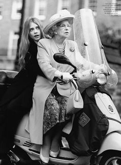 cara delevinge and the queen