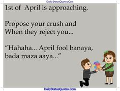 Propose your crush  Daily Status Quotes