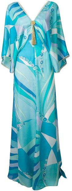Shop for printed kaftan dress by Emilio Pucci at ShopStyle. Now for Sold Out.