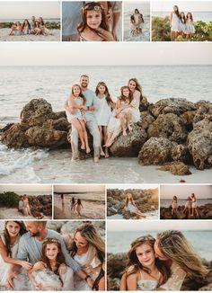 Big Family Photos, Outdoor Family Photos, Family Beach Pictures, Beach Pics, Family Beach Poses, Family Beach Portraits, Family Picture Poses, Family Photography Outfits, Family Portrait Outfits