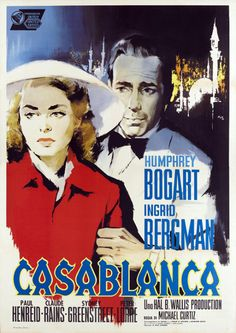 Casablanca Made Bogie look vaguely Chinese