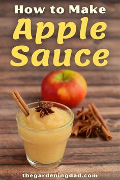 Learn How to Make Apple Sauce with 1 ingredient in under 5 minutes. This is perfect for beginners and will taste better than what you buy at the grocery store! #apple #sauce #recipe Apple Recipes Easy, Fall Recipes, Vegan Recipes, Plant Based Diet, Plant Based Recipes, Almond Joy Cupcakes, Healthy Dishes, Health And Wellbeing, Creative Food