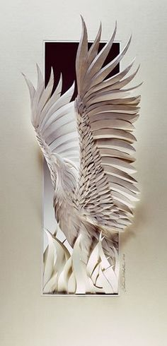 Animal Paper Sculptures - por Calvin Nicholls