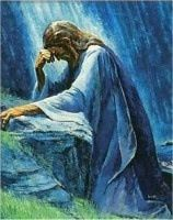 And being in anguish, he prayed more earnestly, and his sweat was like drops of blood falling to the ground. ~ Luke 22:44