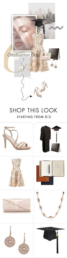 """Congrats, Grad: Graduation Day Style"" by lacas ❤ liked on Polyvore featuring Mark & Graham, Van Peterson 925 and Graduation"