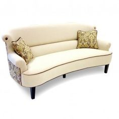 The Elegant Types Curved Sectional Sofa