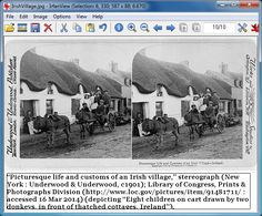 How to add citations to photos using Irfanview (Judy Russell, The Legal Genealogist)