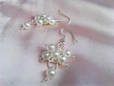 zblnka - Mamana / SAShE.sk Folk, Pearl Earrings, Pearls, Jewelry, Fashion, Moda, Pearl Studs, Jewlery, Popular