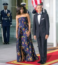 Malia, Sasha Obama Glam Up to Attend First State Dinner - Us Weekly