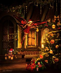Christmas Fairy by La--Boheme.deviantart.com on @deviantART