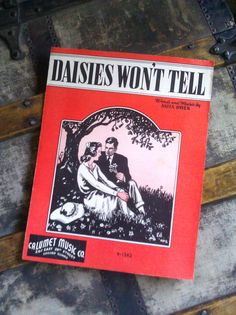 Daisies Wont Tell / Vintage Sheet Music / 1940 by Lauralous, $4.00