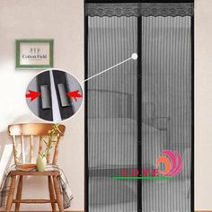 Merveilleux Http://magnetmesh.com/ Magnet Mesh Hands Free Screen Door |