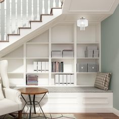 House Design, New Homes, Stairs Design, House, Home, Staircase Storage, House Stairs, Home Stairs Design, Under Stairs Nook
