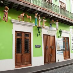 Colorful Old San Juan -