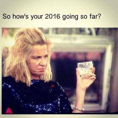So how's your 2016 going so far?