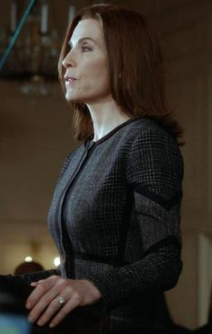 Take a cue from Alicia Florrick and let a subtle geometric print make you stand out from the crowd.