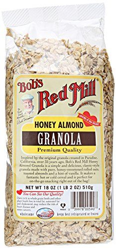 Bobs Red Mill Granola Honey Almond 18 Ounce * Details can be found by clicking on the image.
