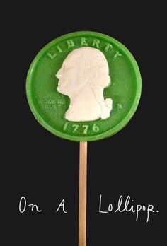 katespadeny:    nomnomnom on green george lollipops.